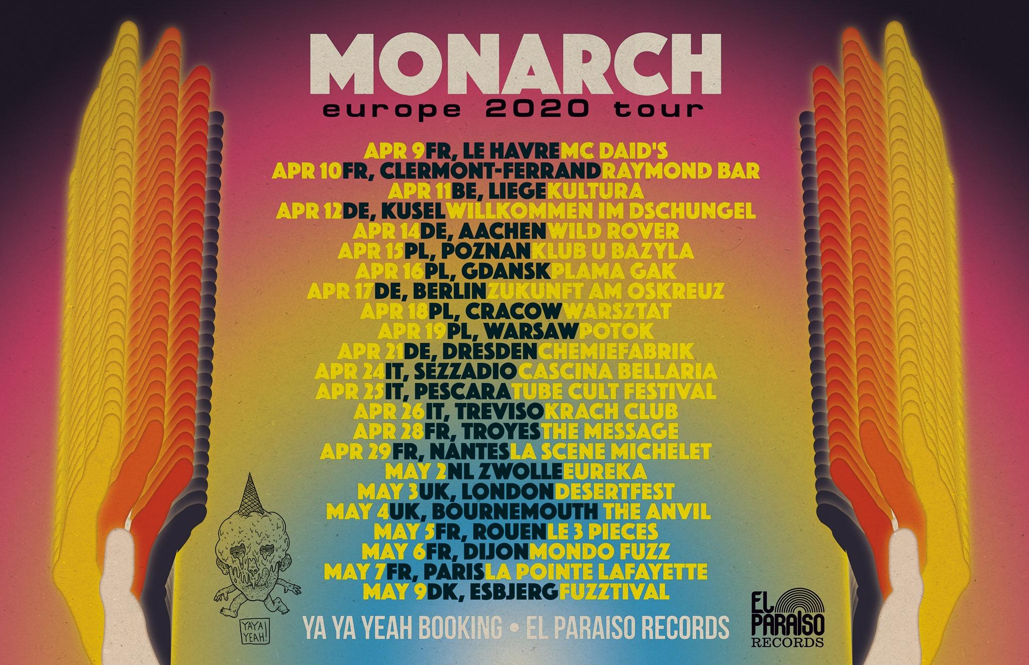 MONARCH TOUR