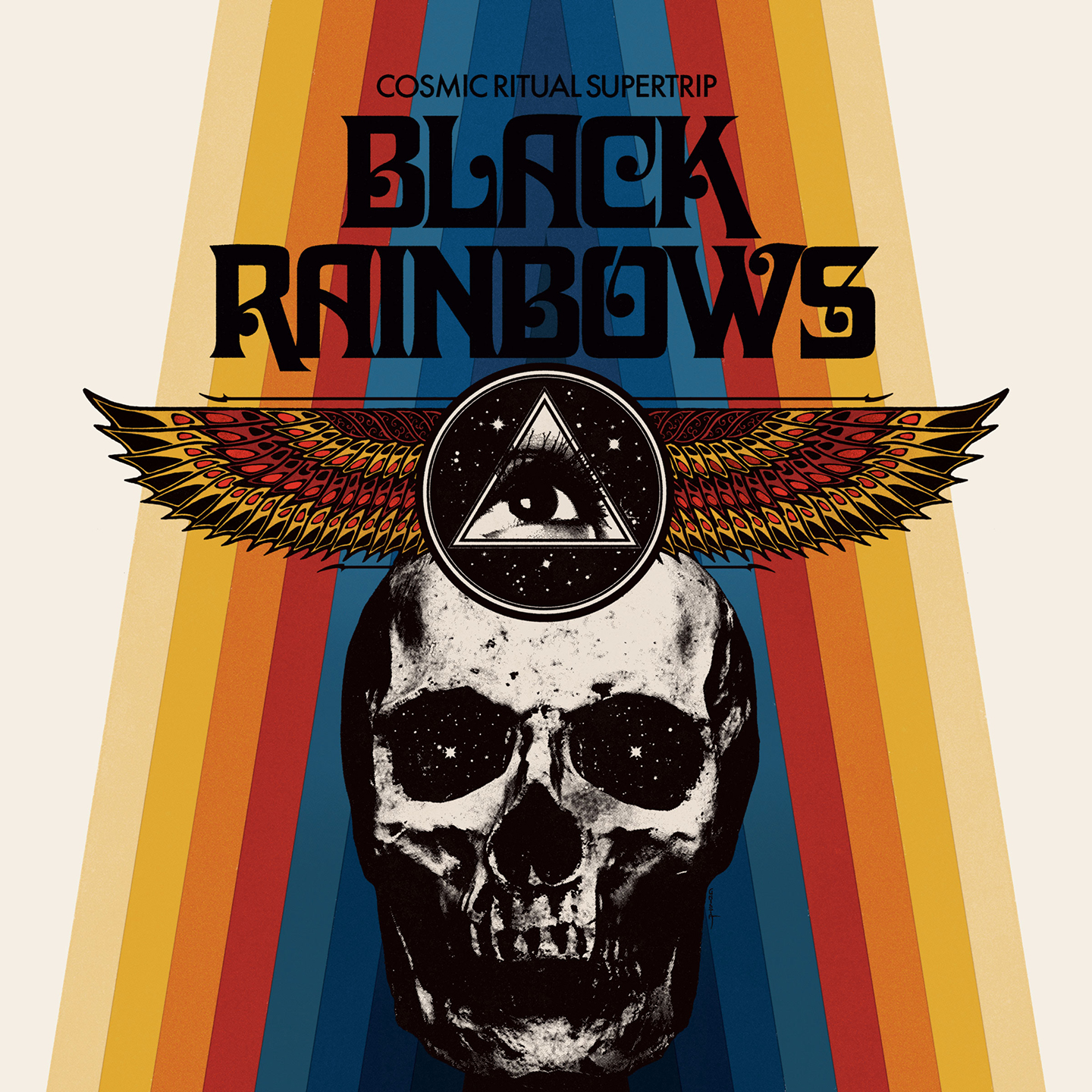 black rainbows Cosmic Ritual Supertrip