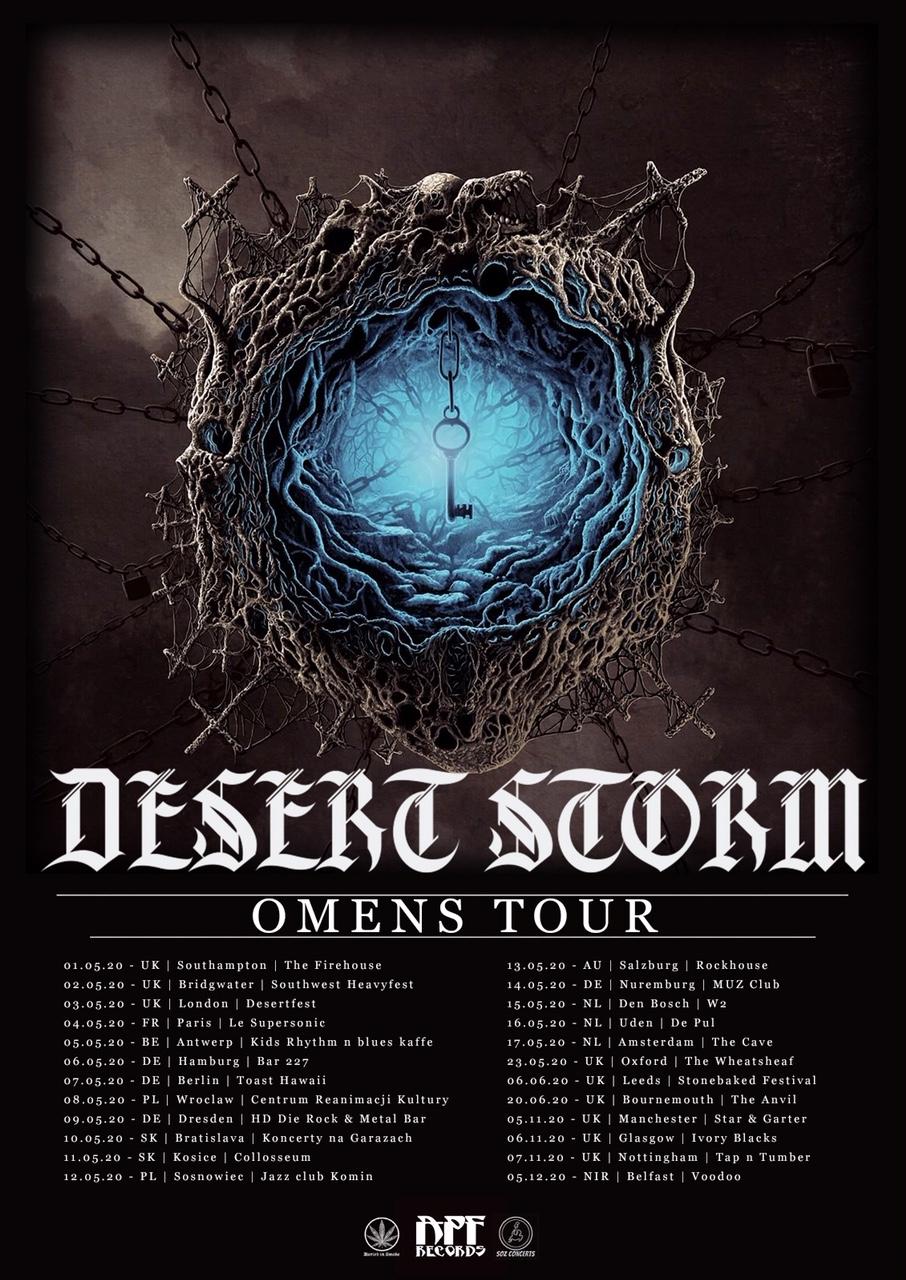 desert storm tour