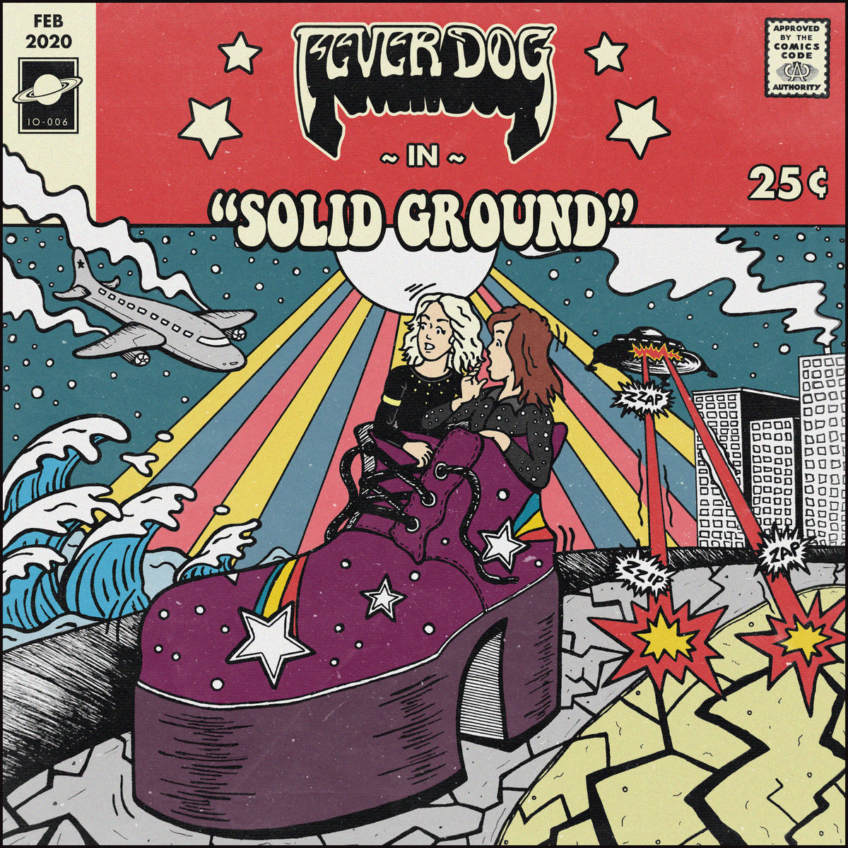fever dog solid ground