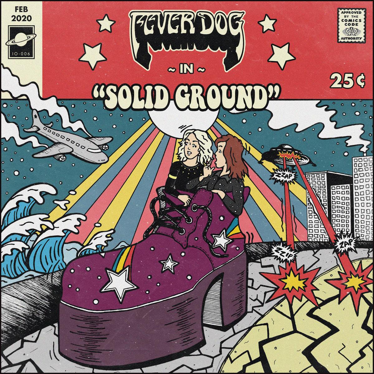 fever dog solid ground