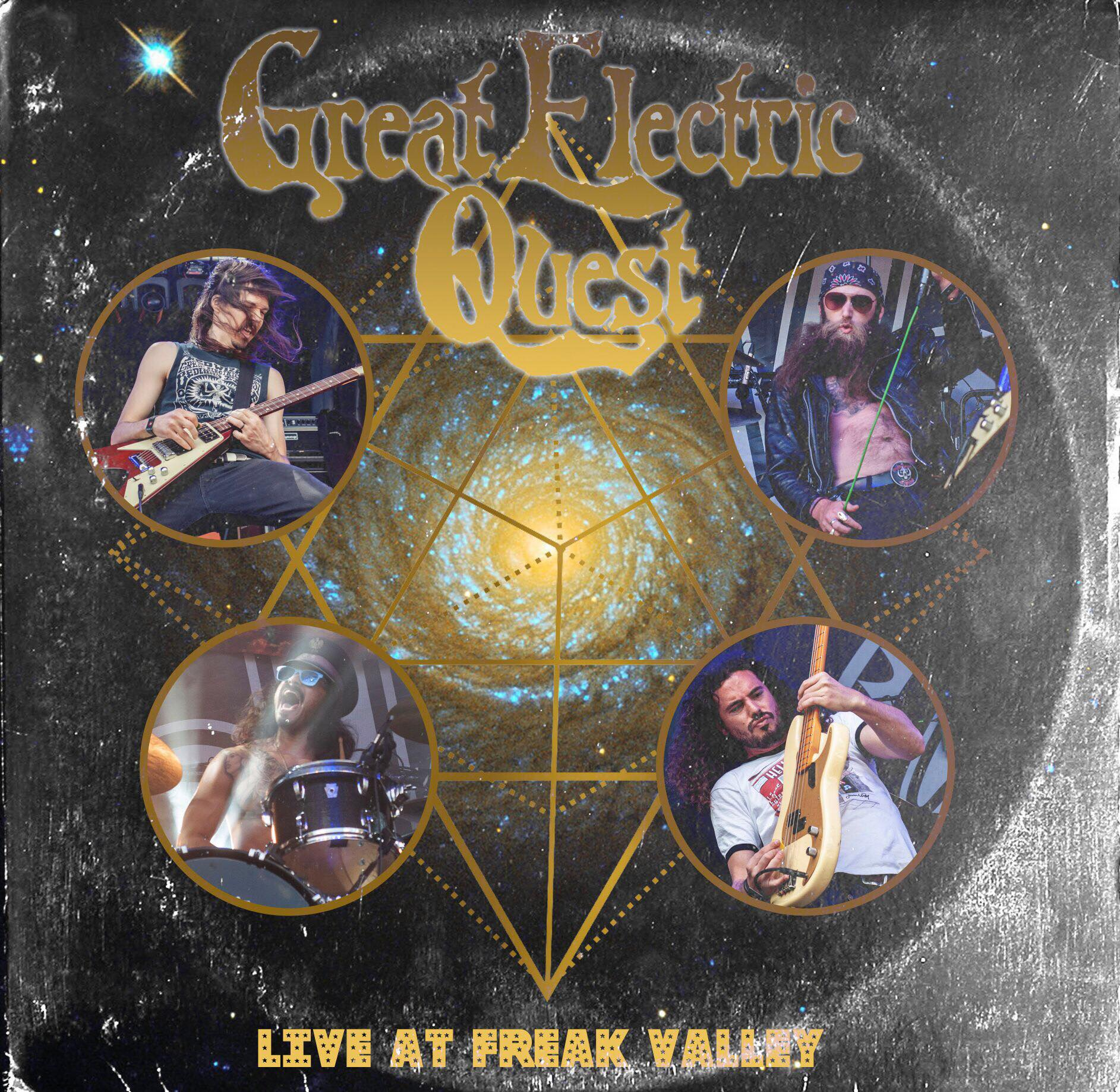 great electric quest live at freak valley