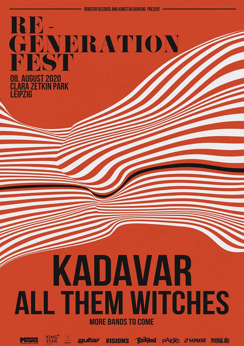 re-generation fest 2020 poster