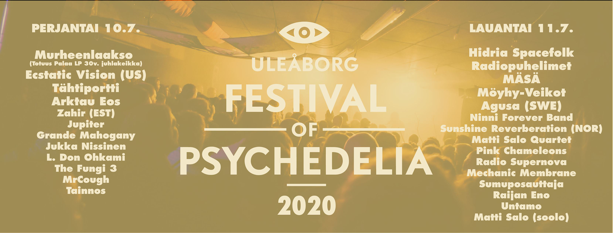 uleaborg festival of psychedelia 2020 lineup