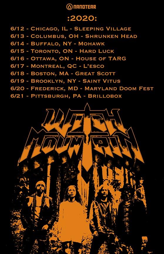 witch mountain east coast tour