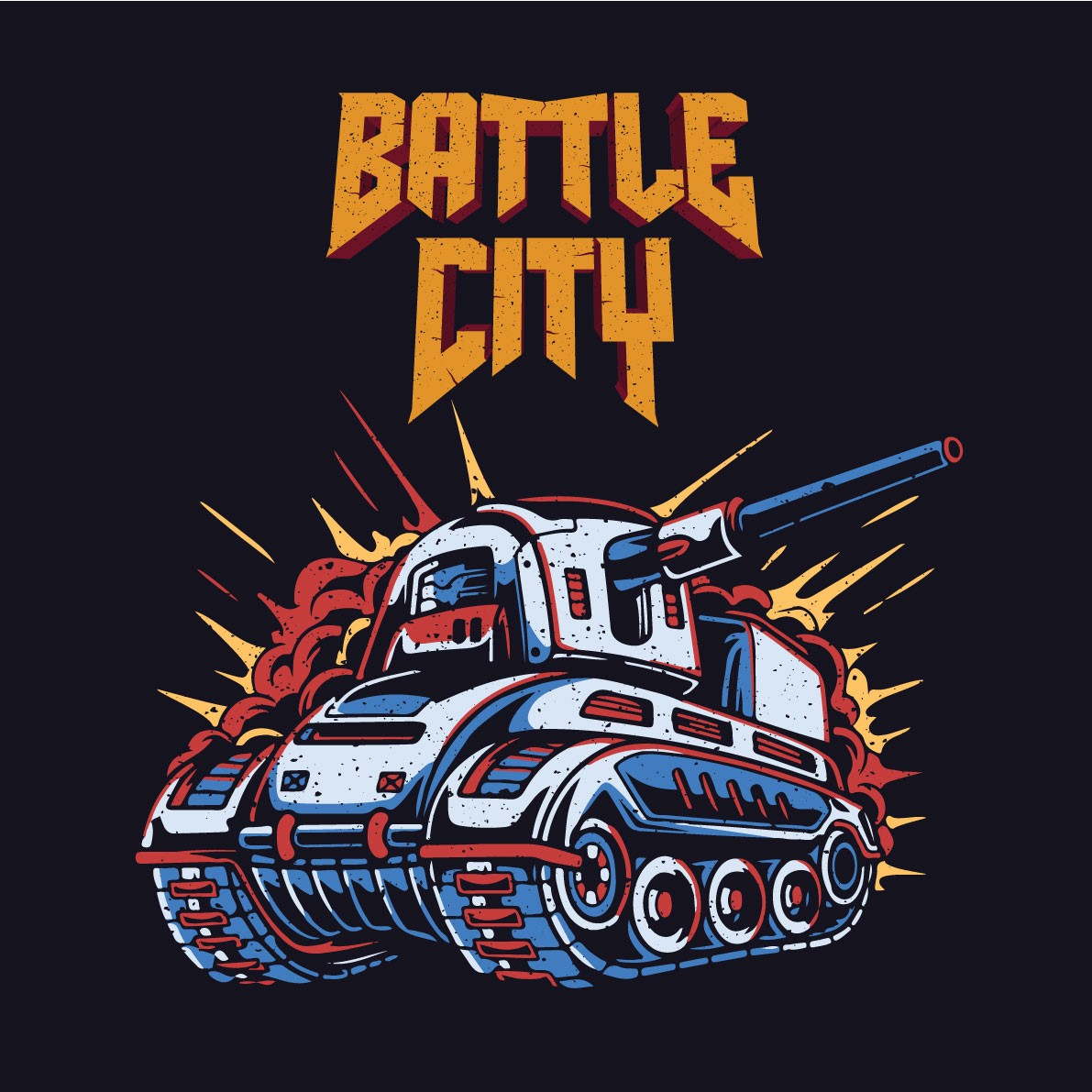 Battle City Press Start