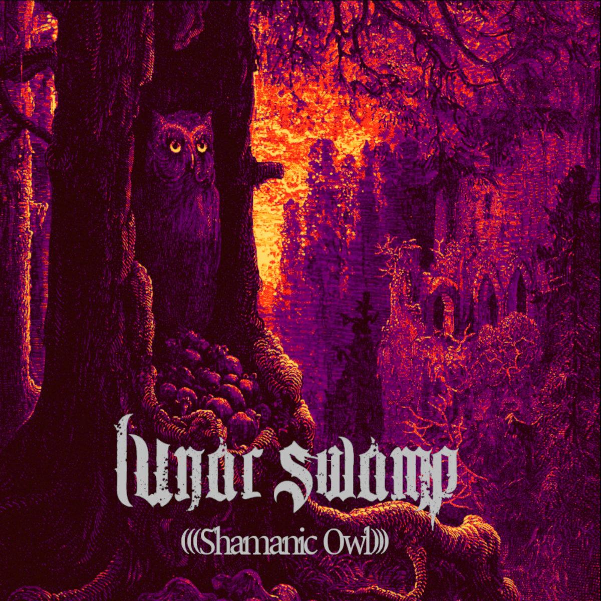 Lunar Swamp Shamanic Owl