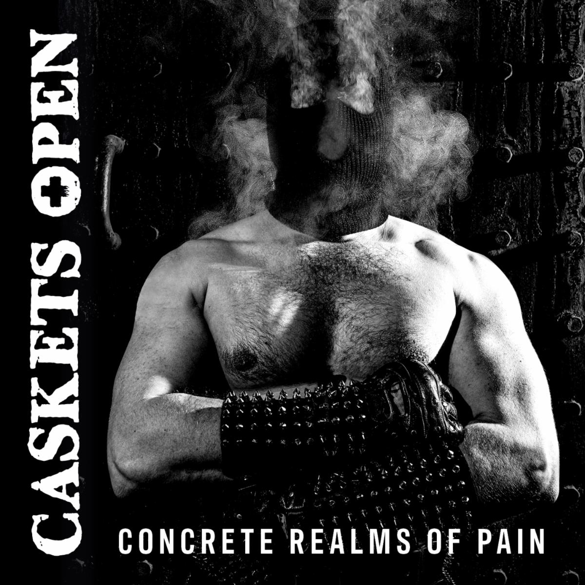 caskets open concrete realms of pain