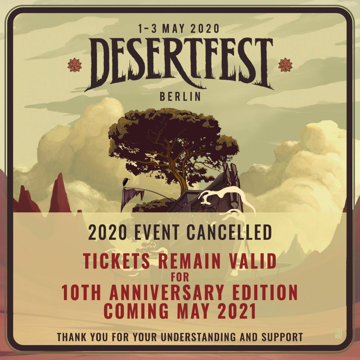 desertfest berlin 2020 off