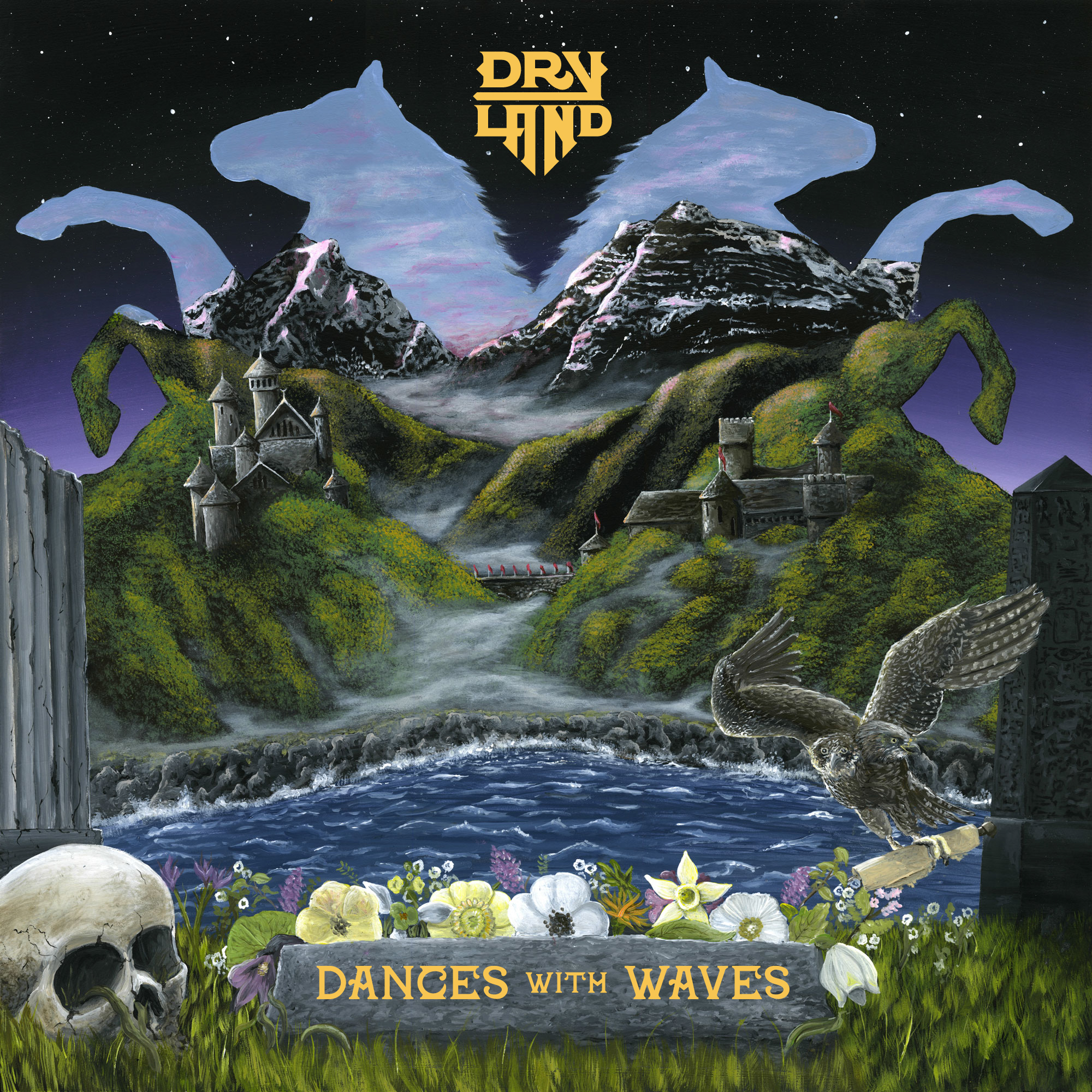 dryland dances with waves