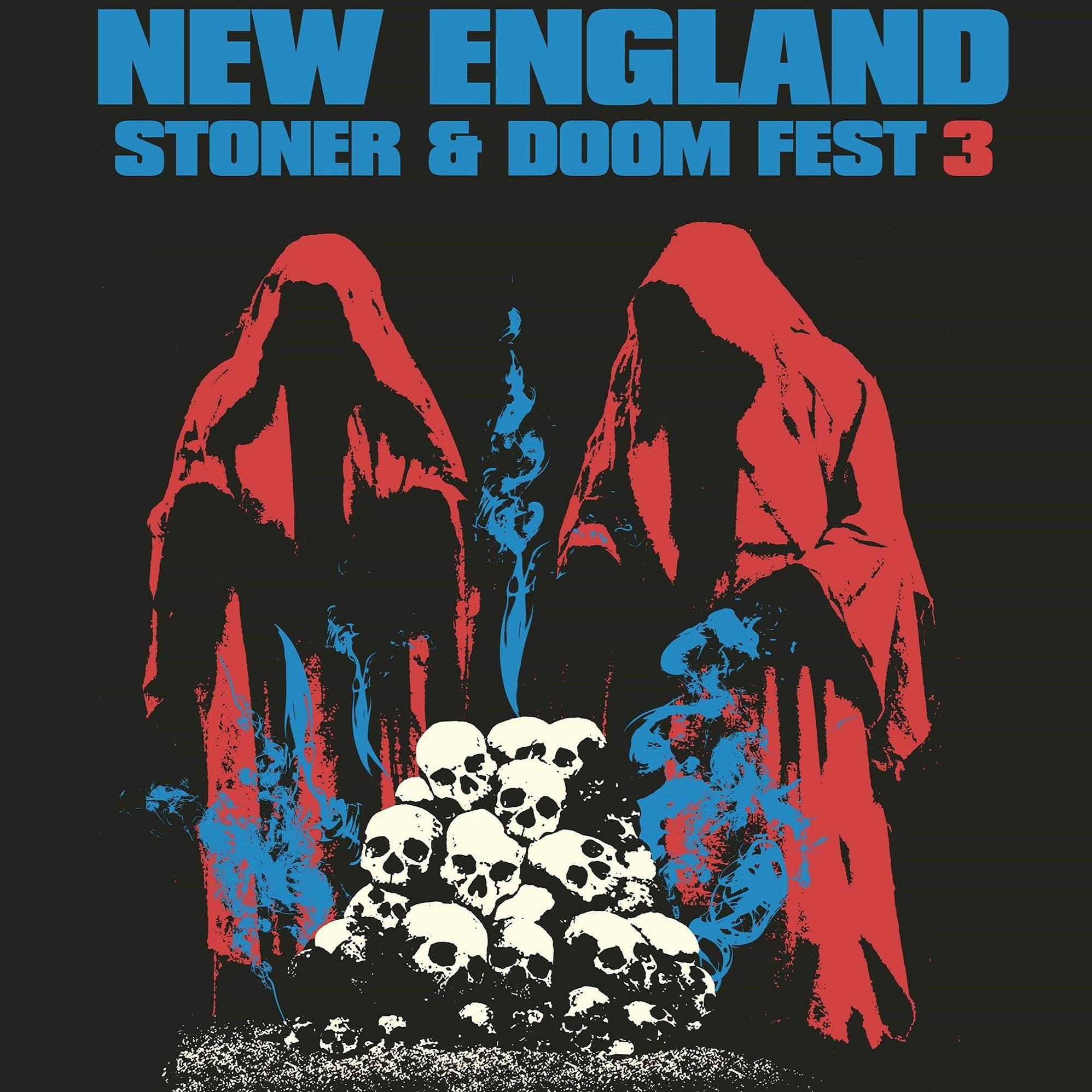 new england stoner doom festival 3 logo
