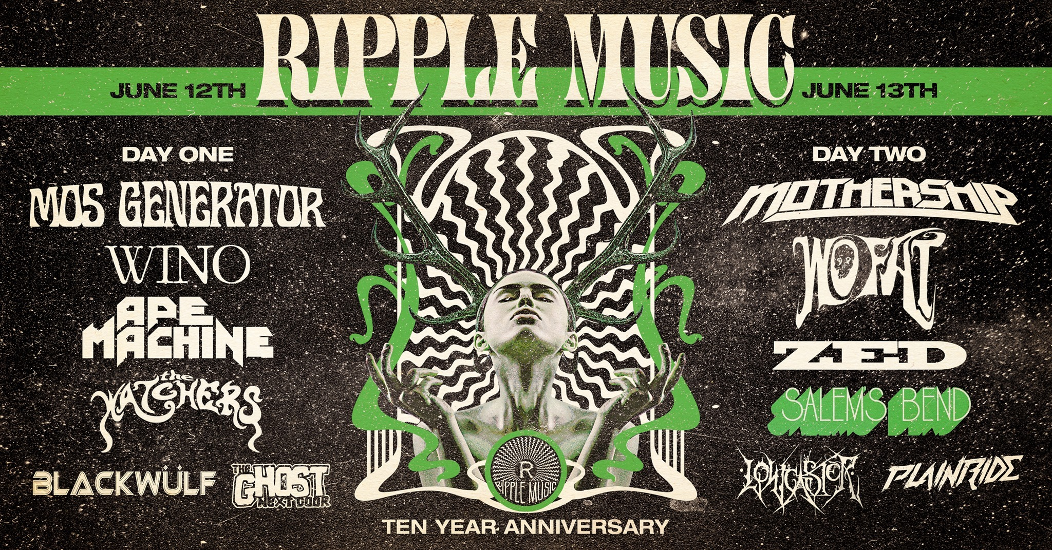 ripple music 10th anniversary party banner