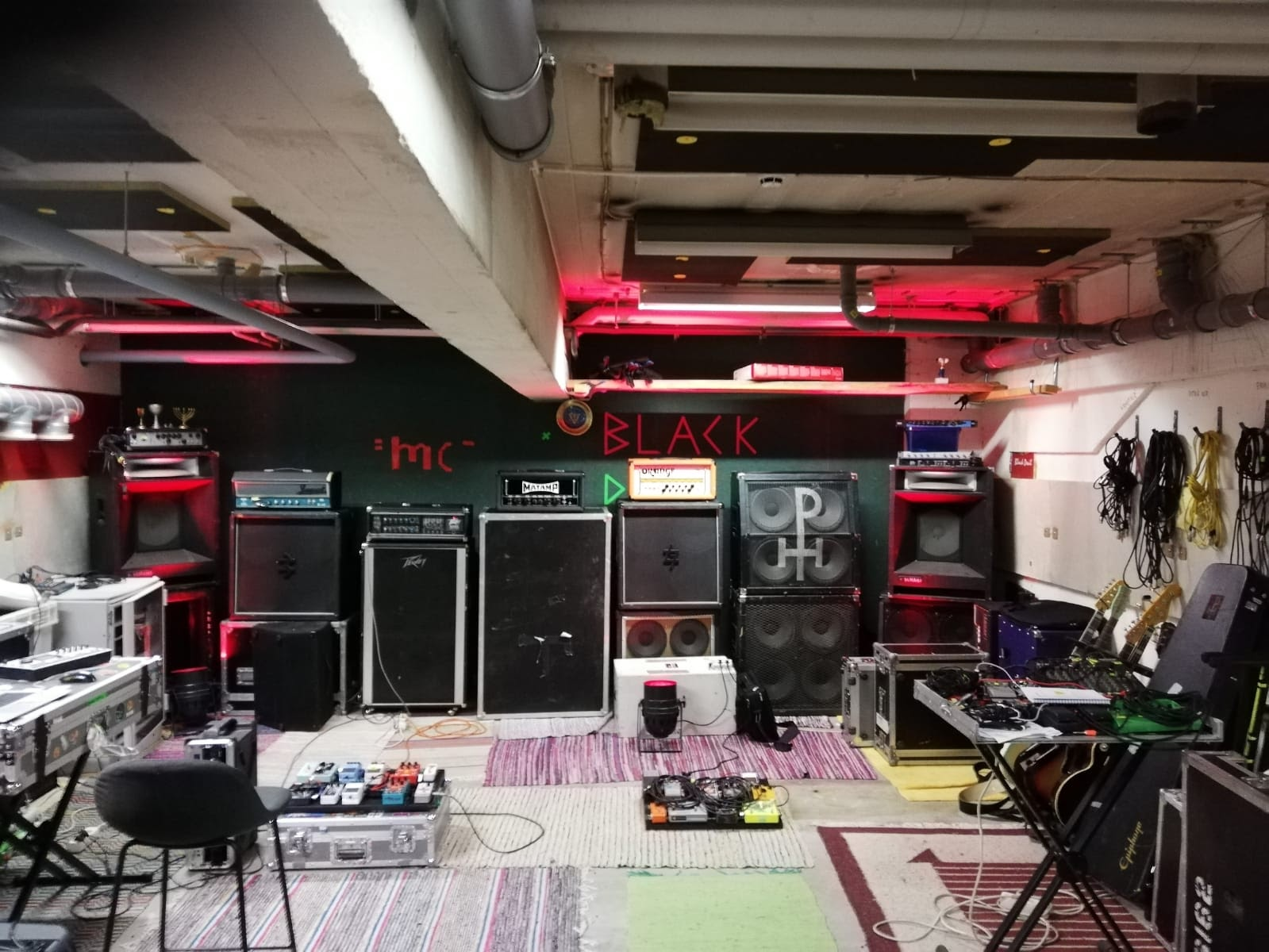 ph rehearsal space