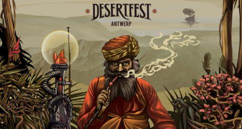 Desertfest Belgium 2020 banner