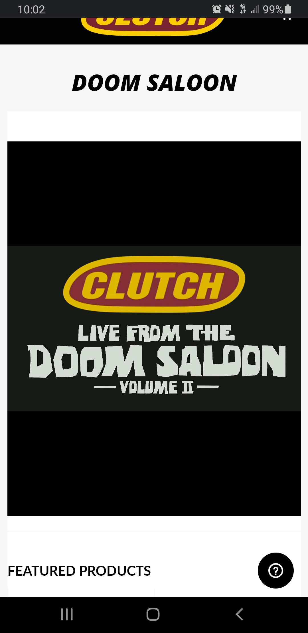 clutch doom saloon logo