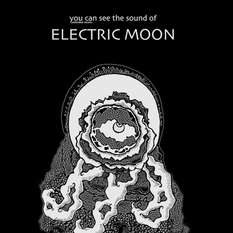 electric moon you can see the sound of