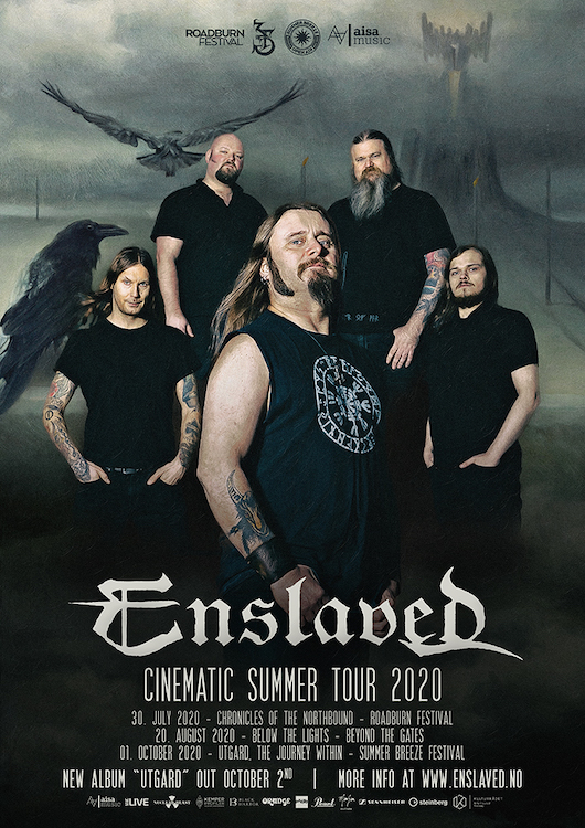 ENSLAVED VIRTUAL TOUR UPDATE