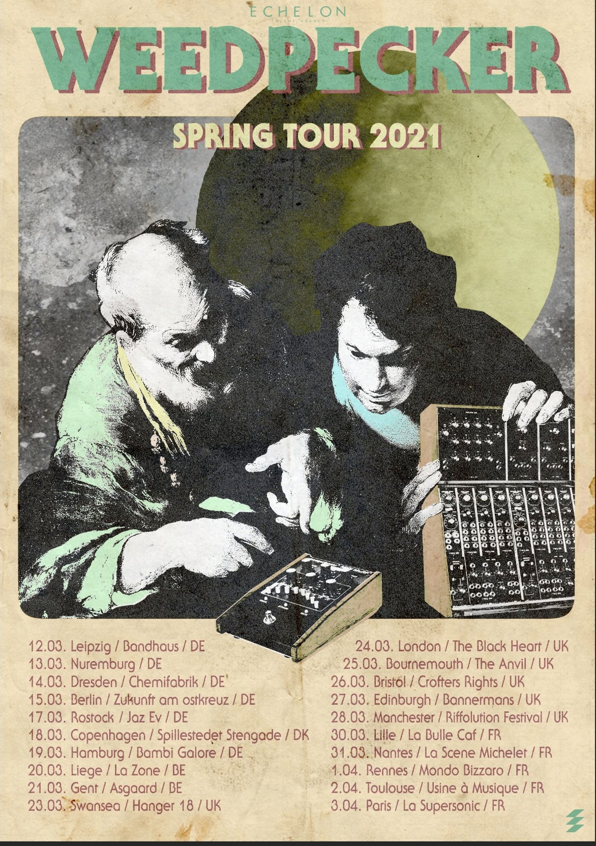 WEEDPECKER SPRING 2021 TOUR