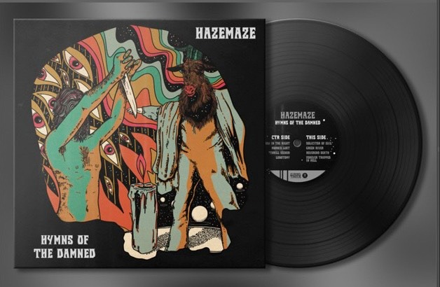 hazemaze hymns of the damned lp repress