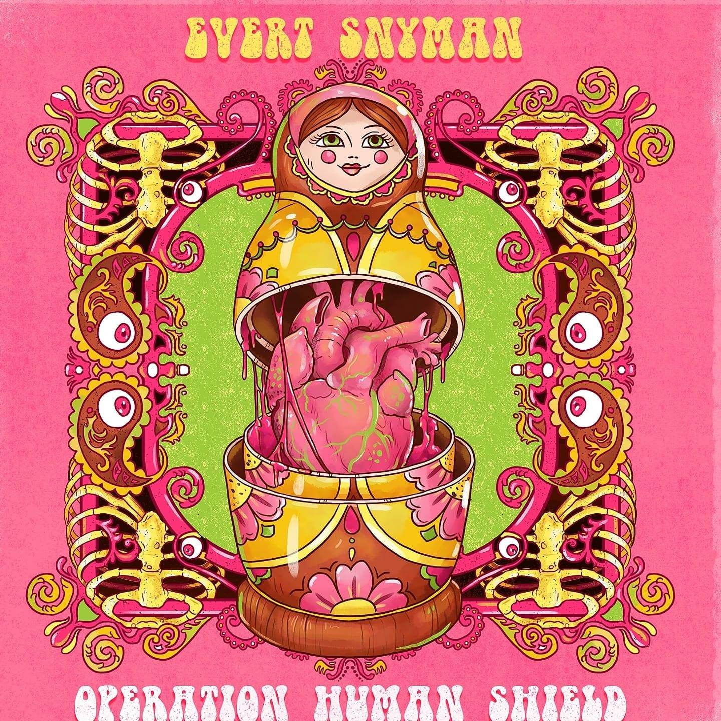 Evert Snyman operation human shield cover