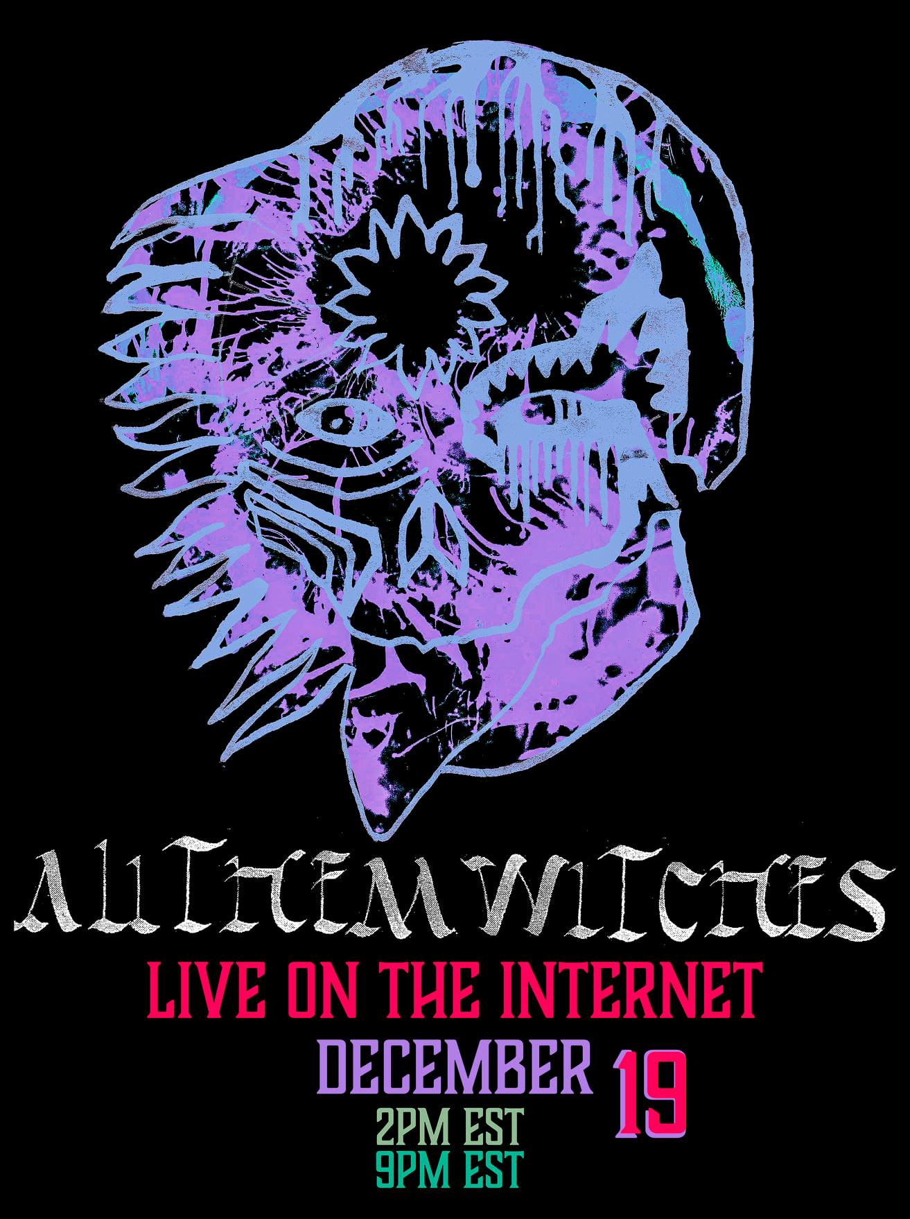 all them witches live on the internet poster