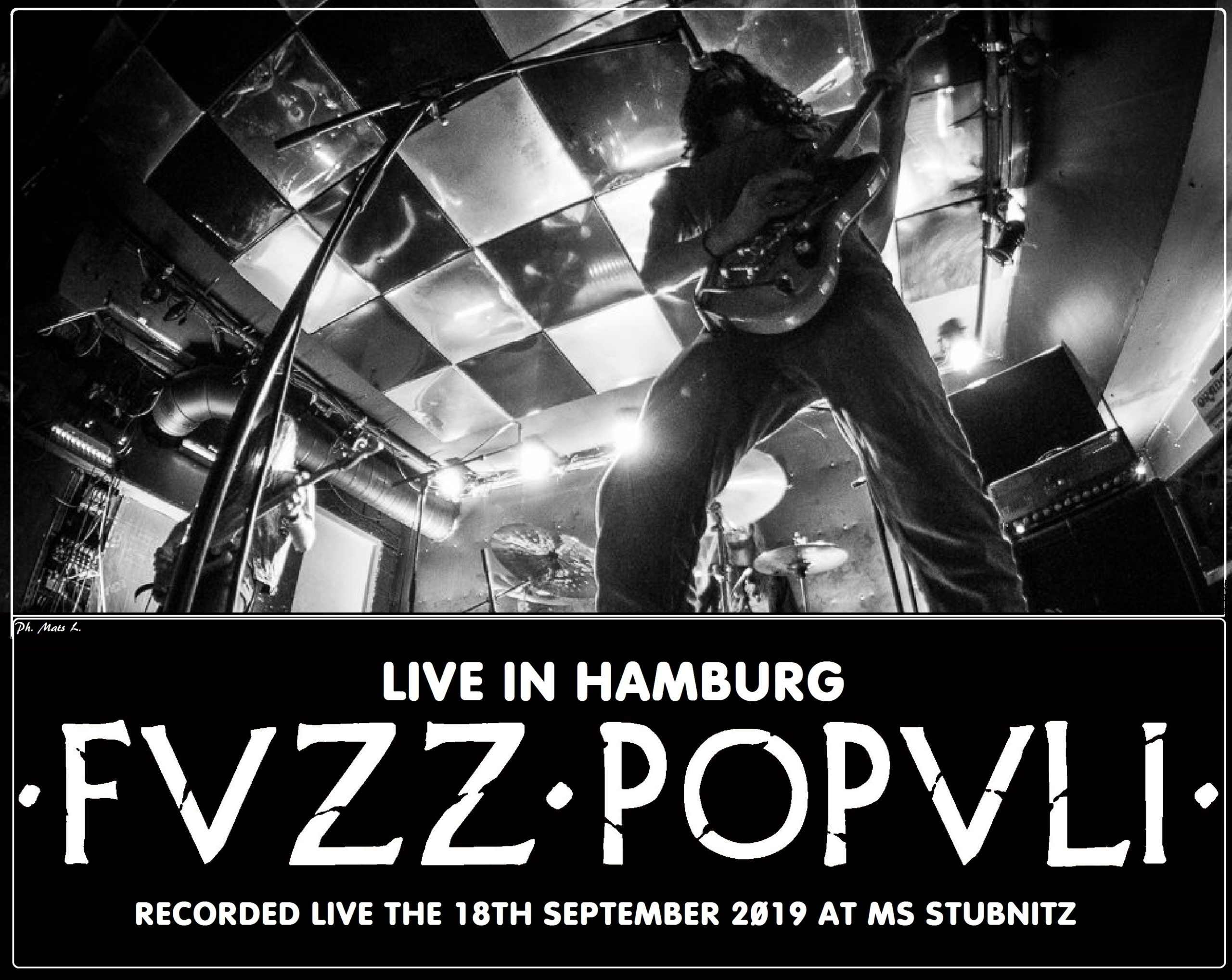 Fvzz Popvli LIVE IN HAMBURG COVER