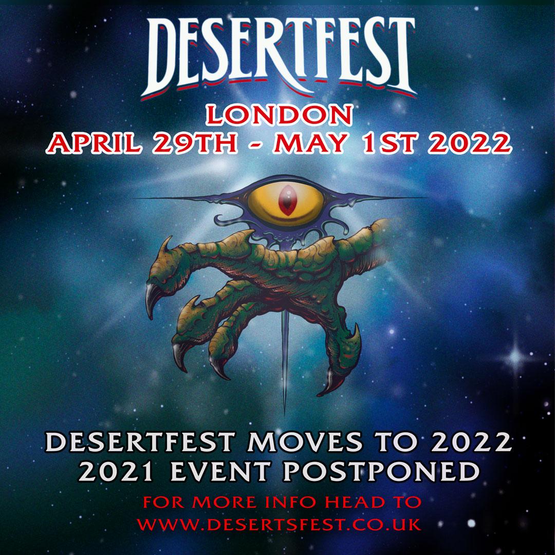 DESERTFEST LONDON 2021 2022