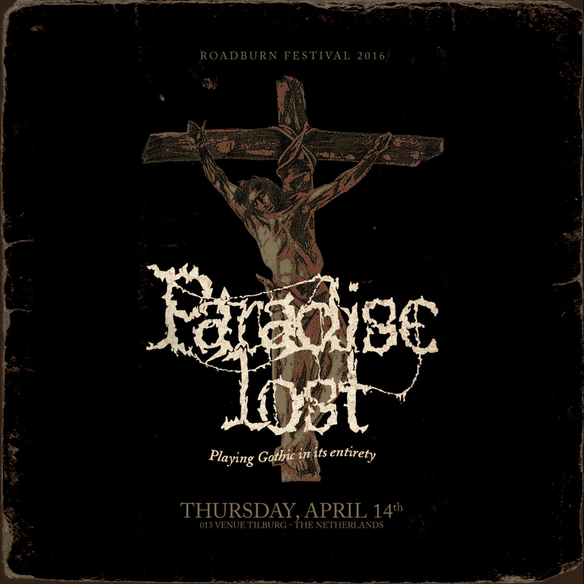paradise lost gothic live at roadburn 2016