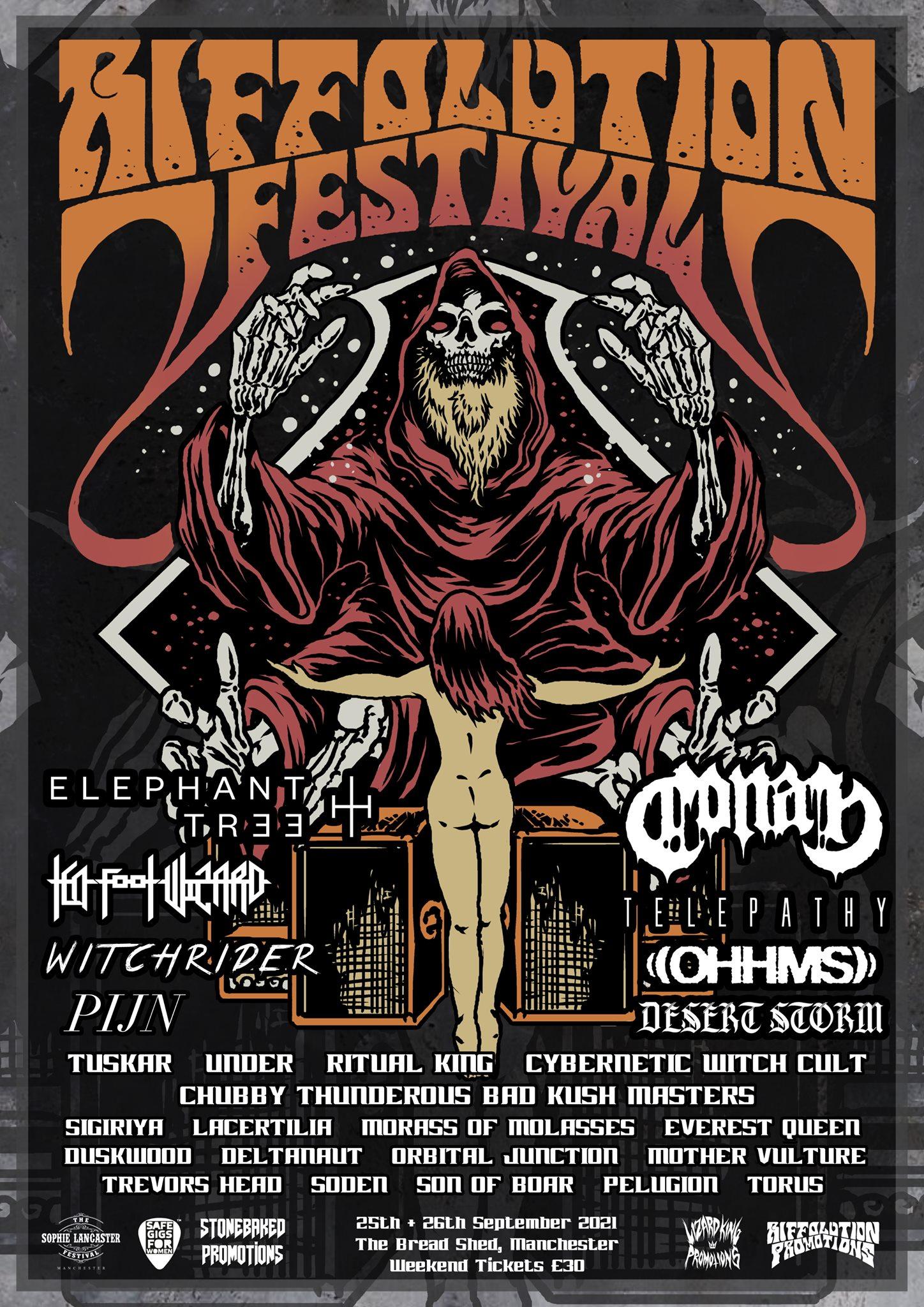 riffolution festival 2021 poster