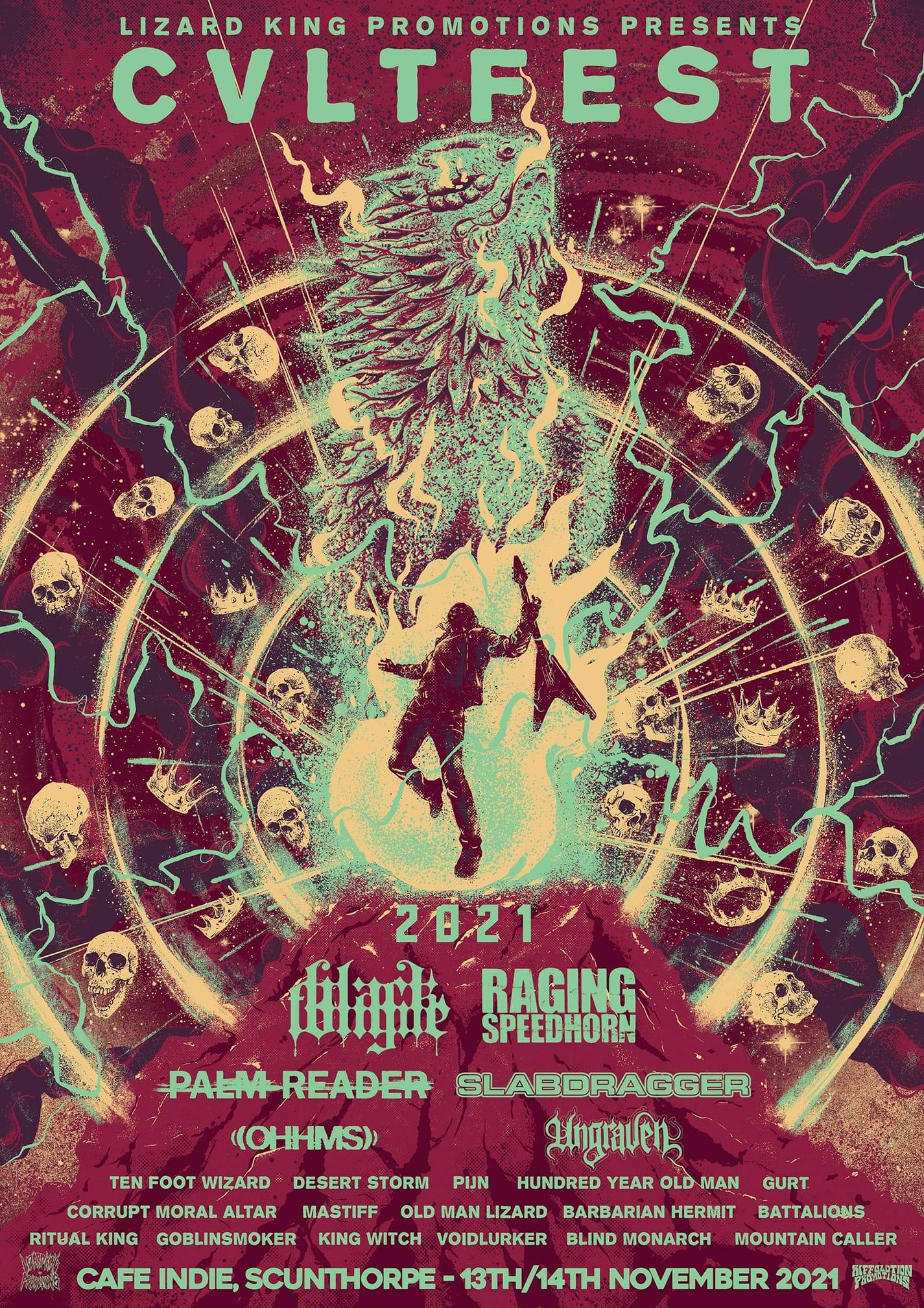 cvltfest 2021 poster