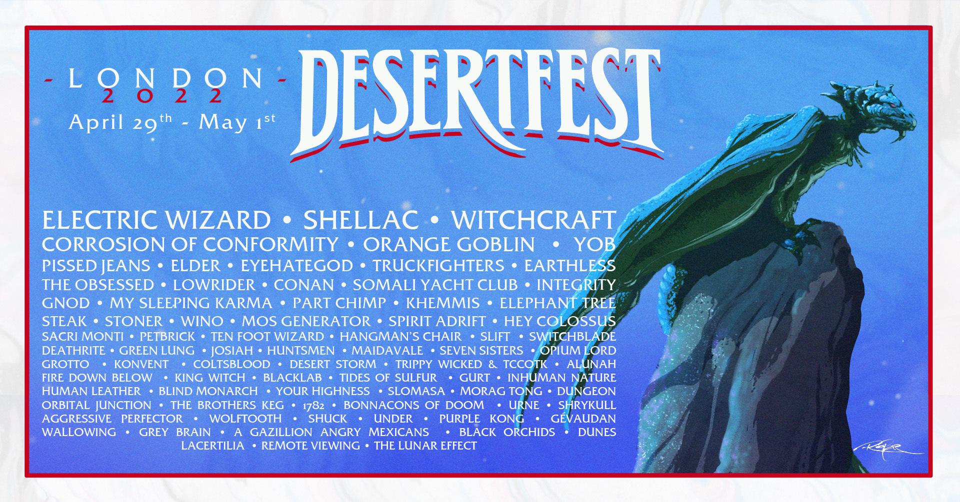 desertfest london 2022 banner