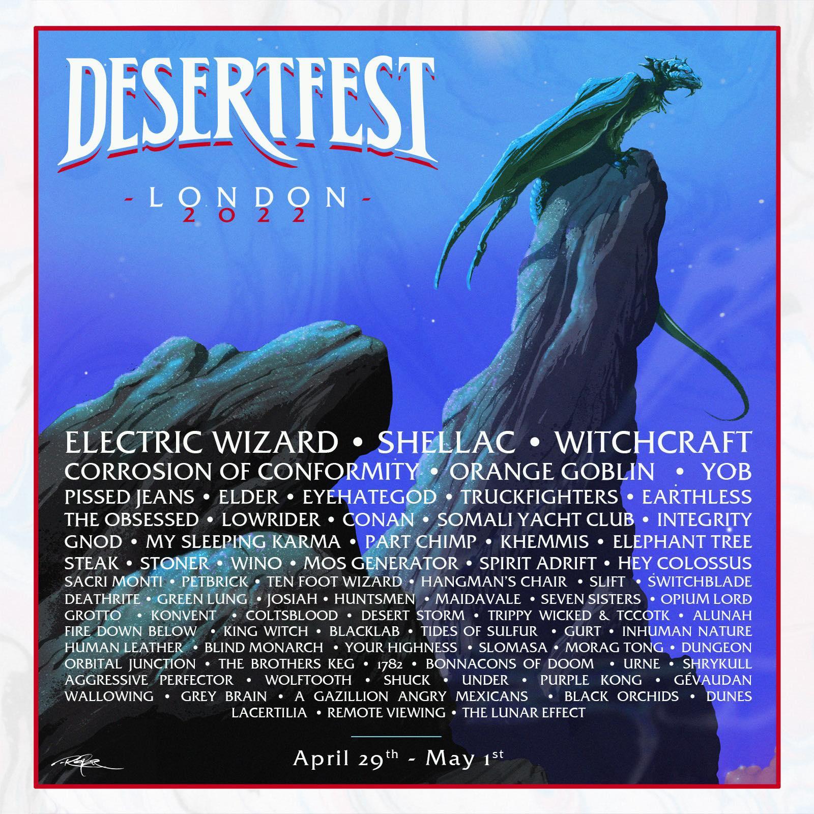 desertfest london 2022