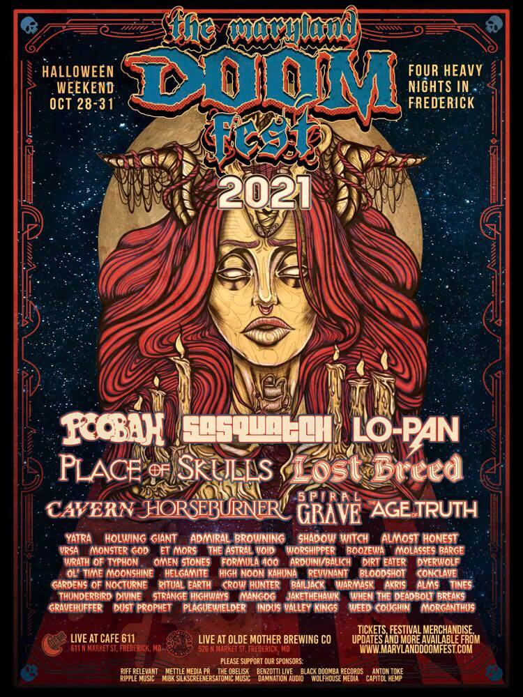 maryland doom fest 2021 new poster