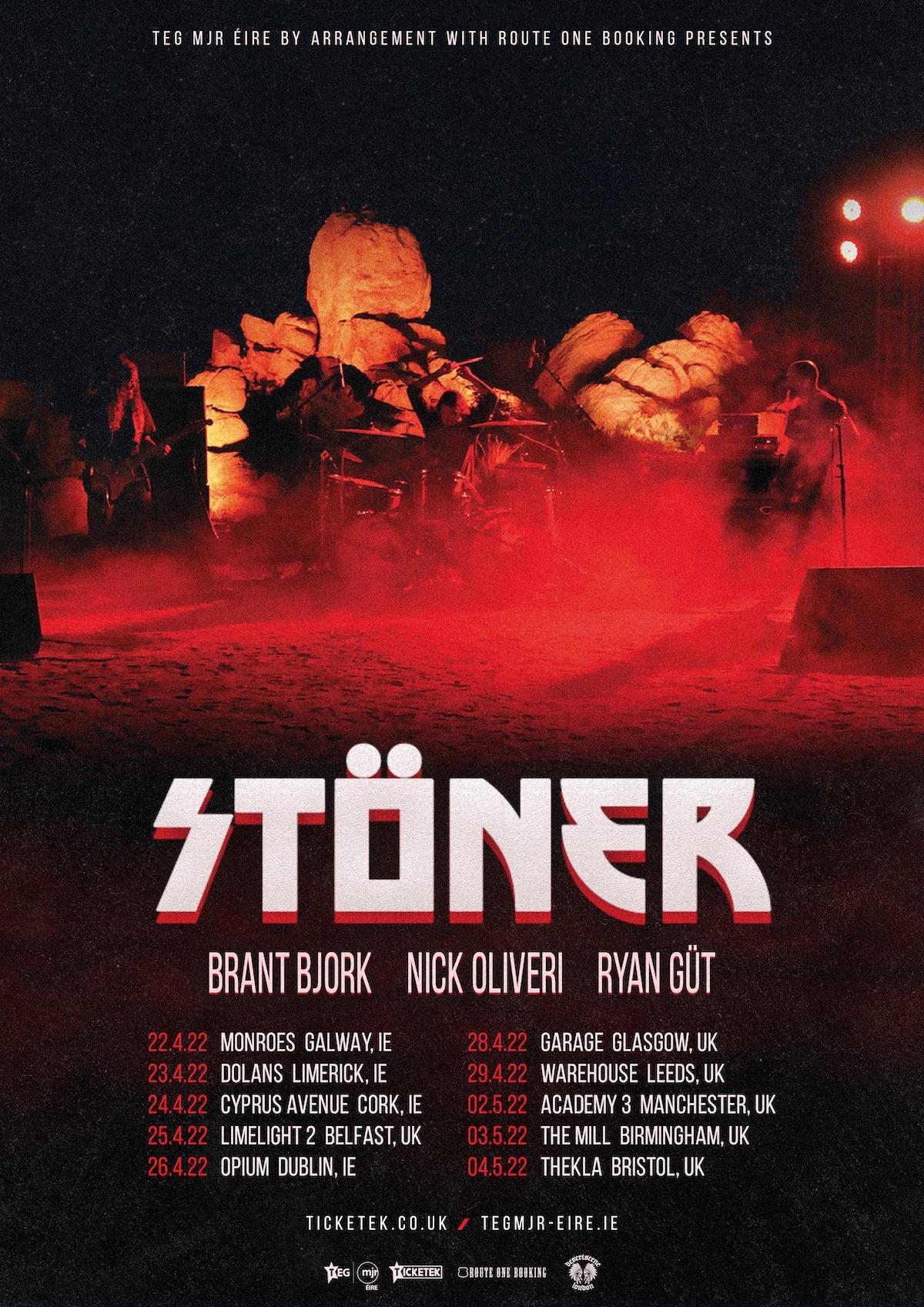 stoner uk ireland tour dates