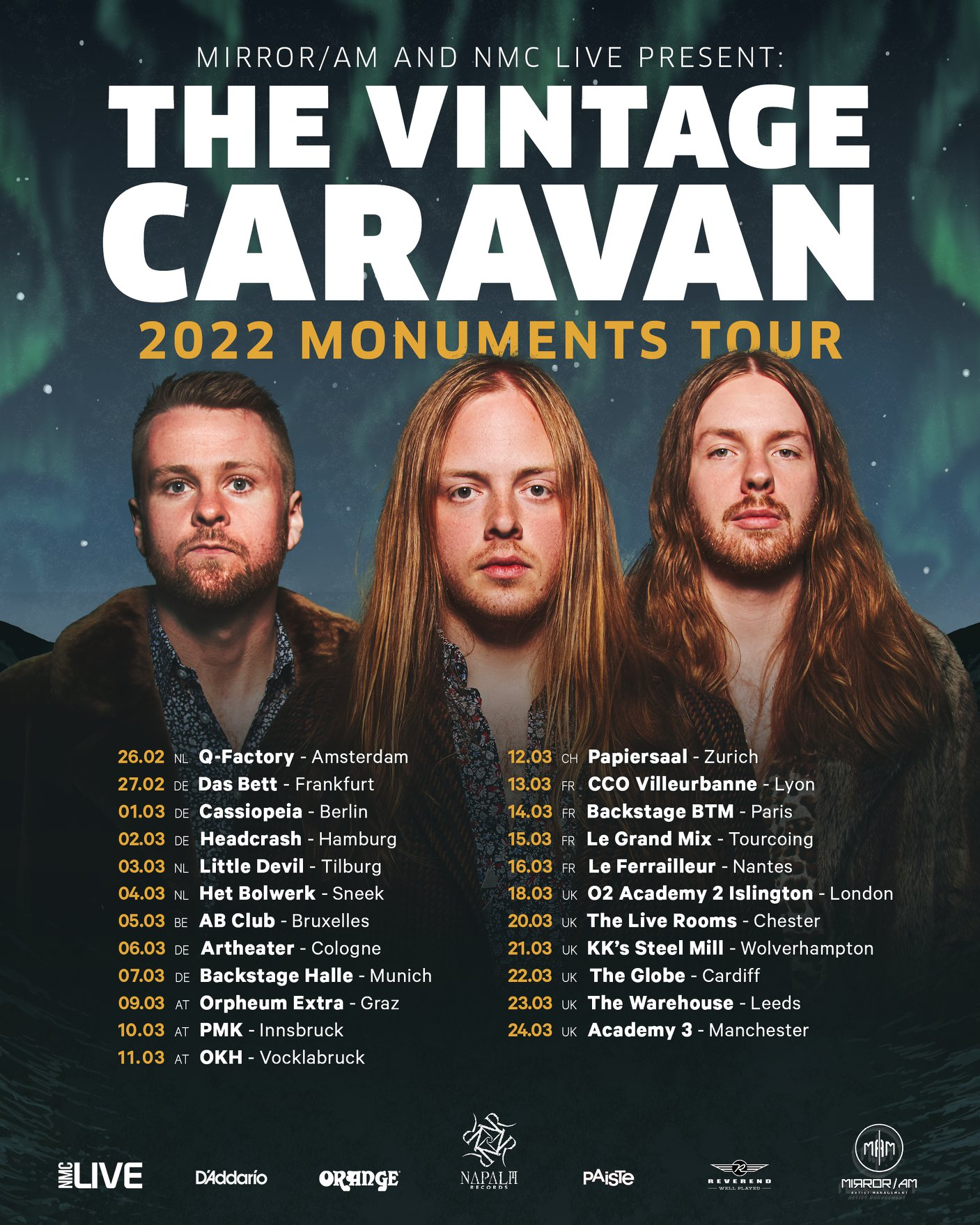the vintage caravan tour