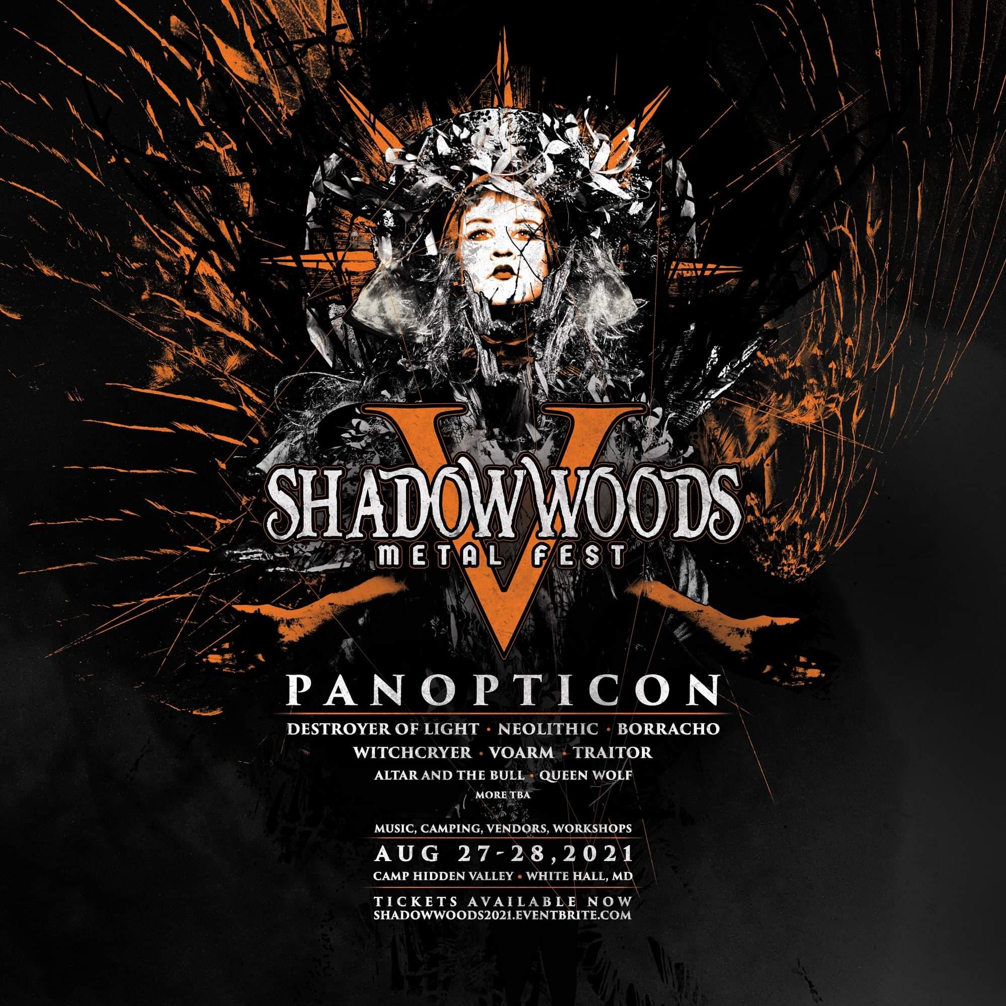 Shadow Woods Metal Fest V poster