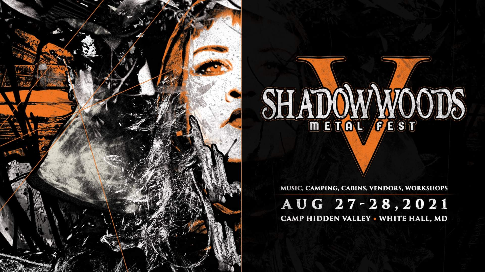 Shadow Woods Metal Fest V banner