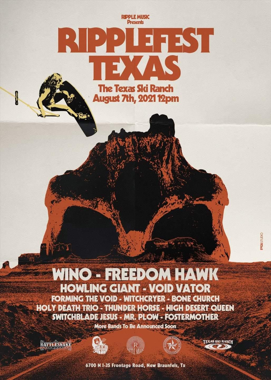 Ripplefest Texas new poster