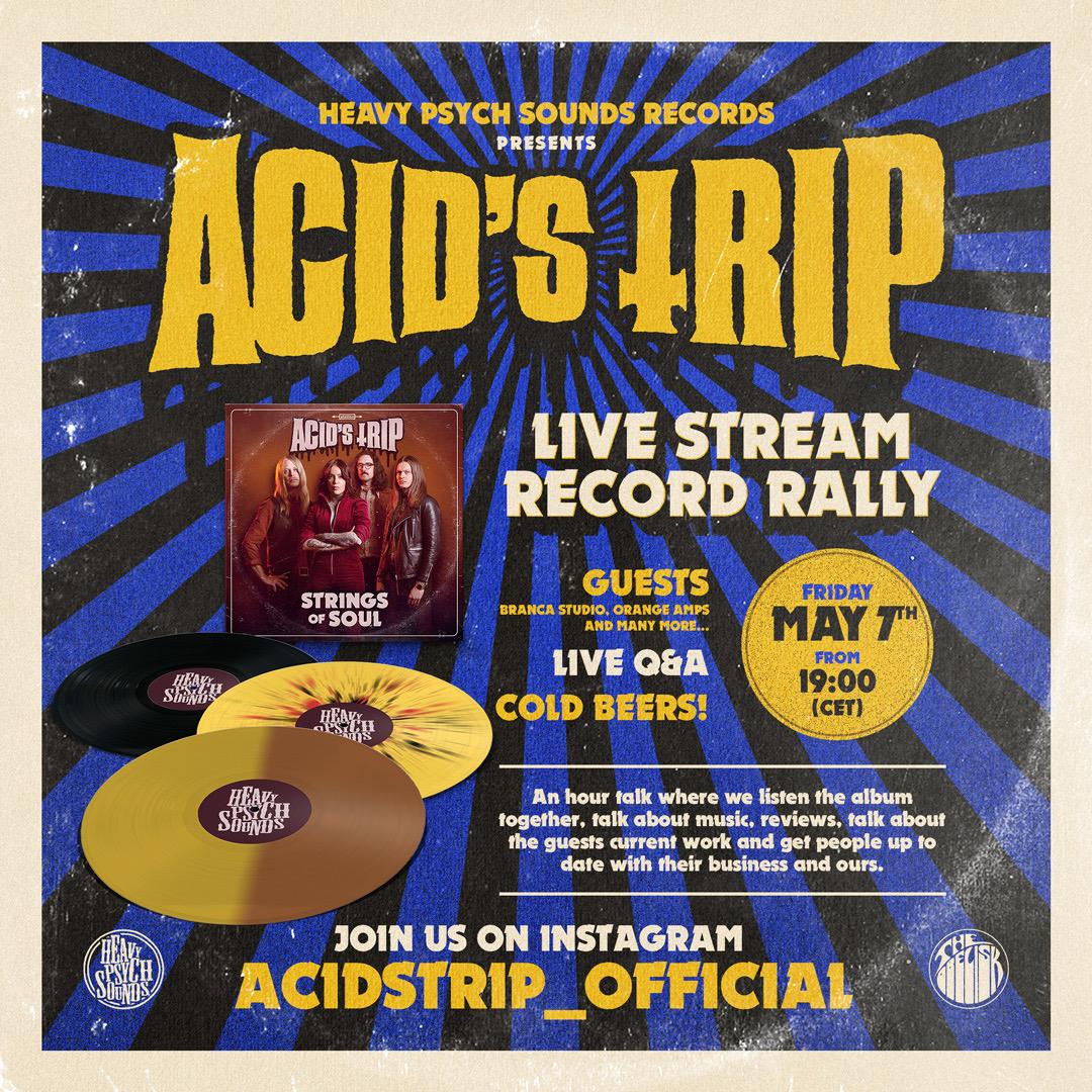 acids trip release party