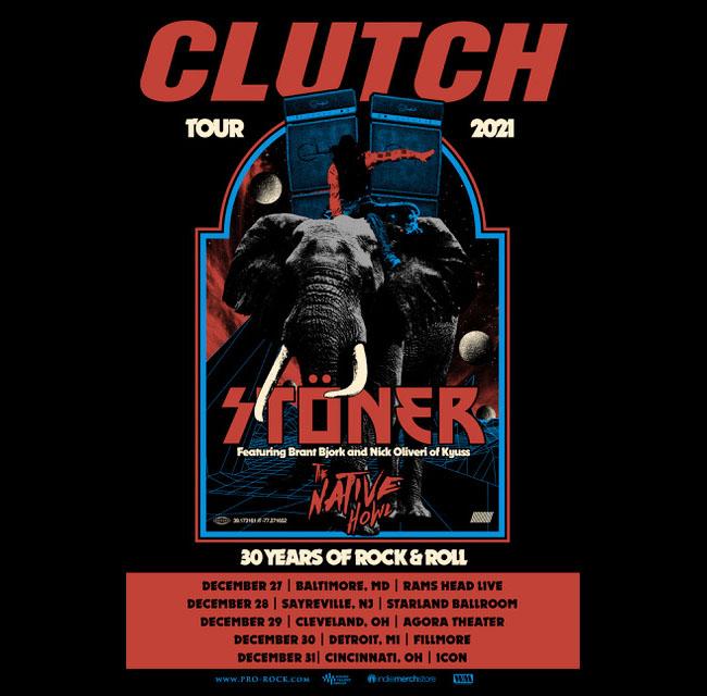 clutch stoner tour