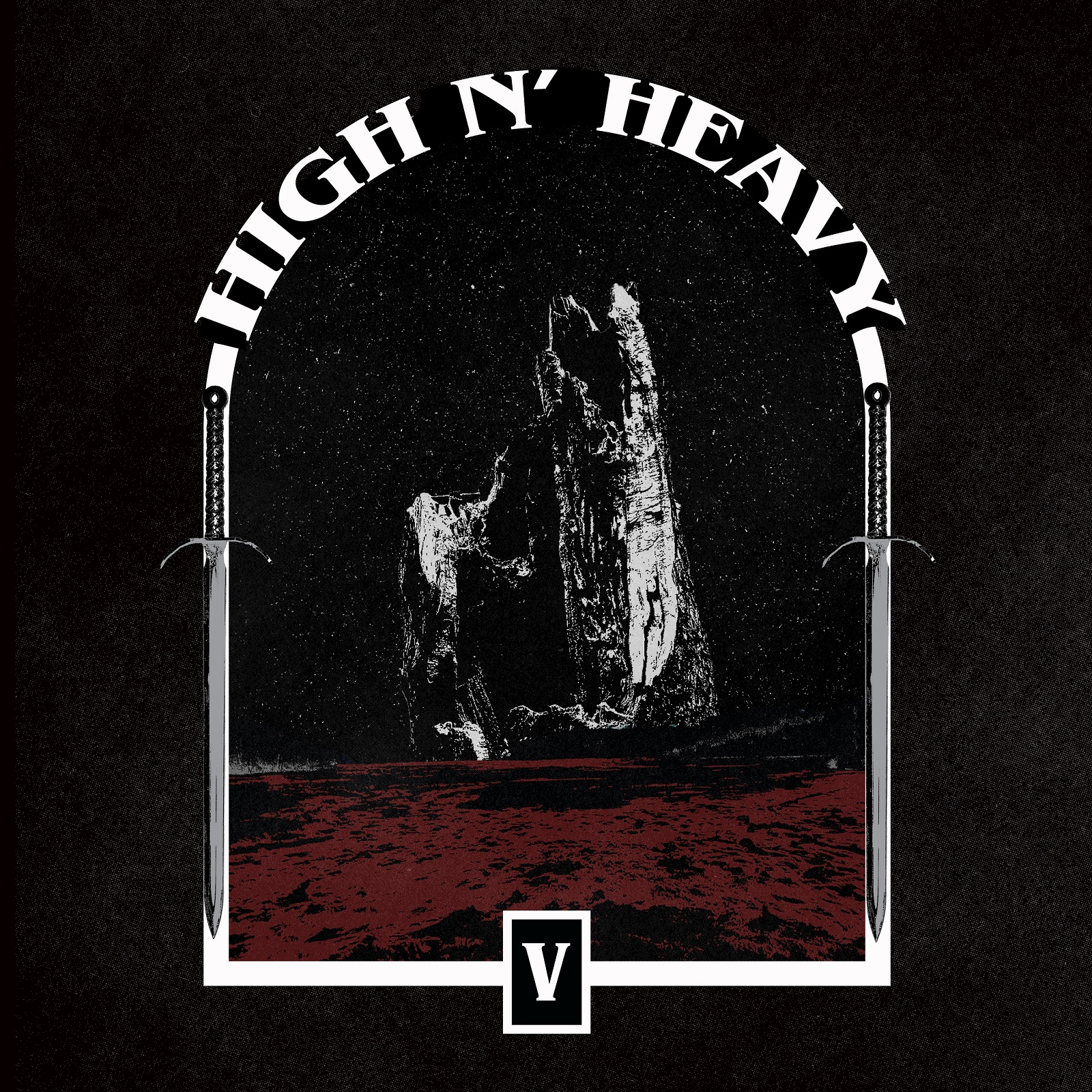 high n heavy v