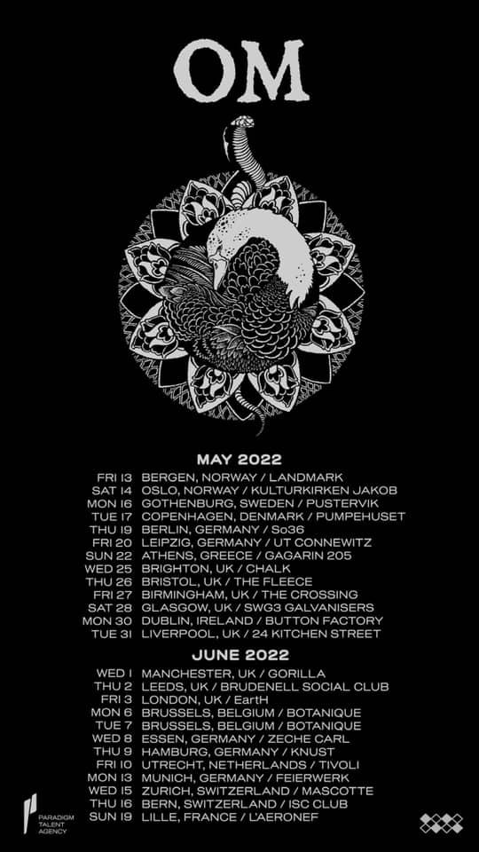 om 2022 touring