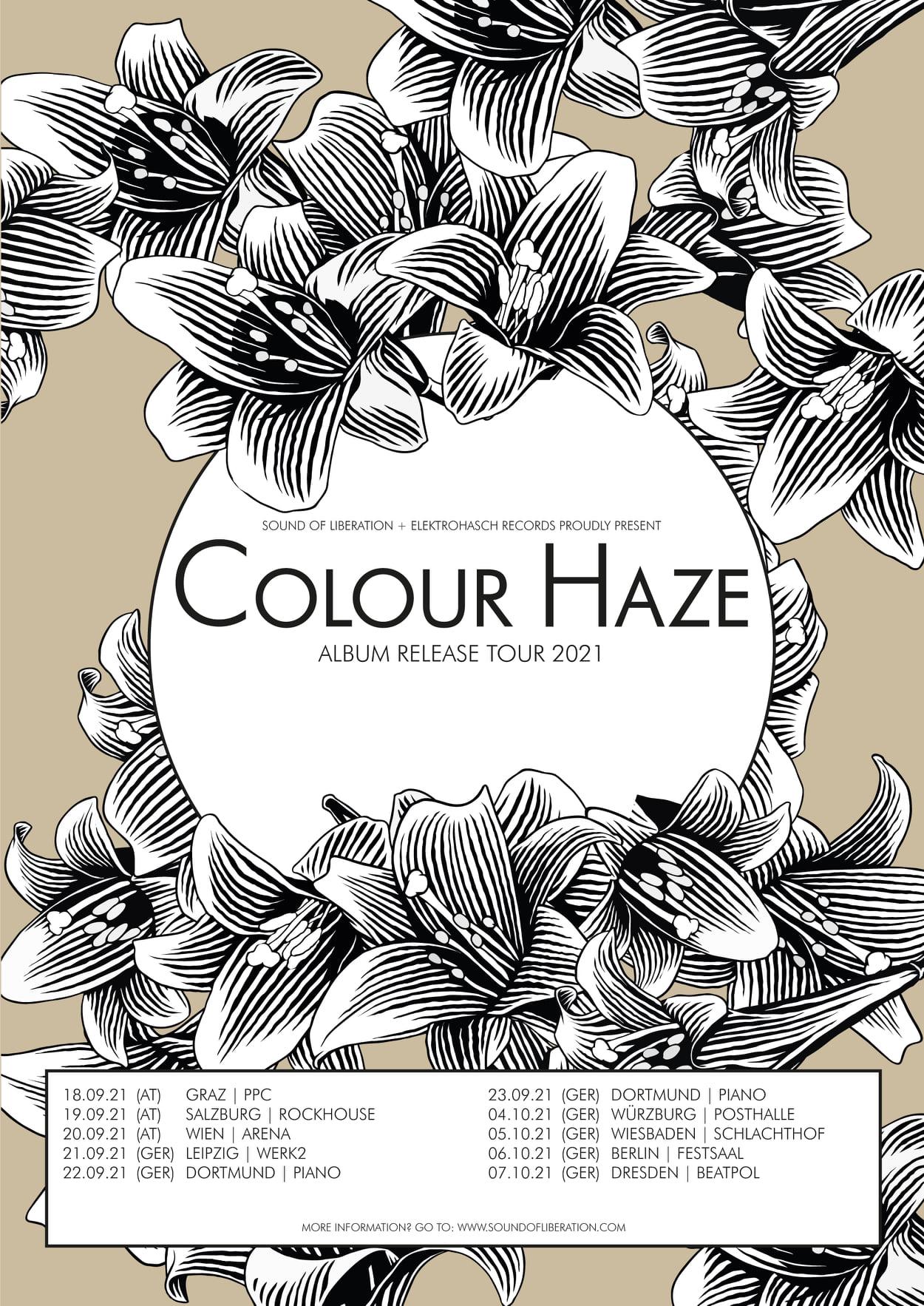 colour haze release tour