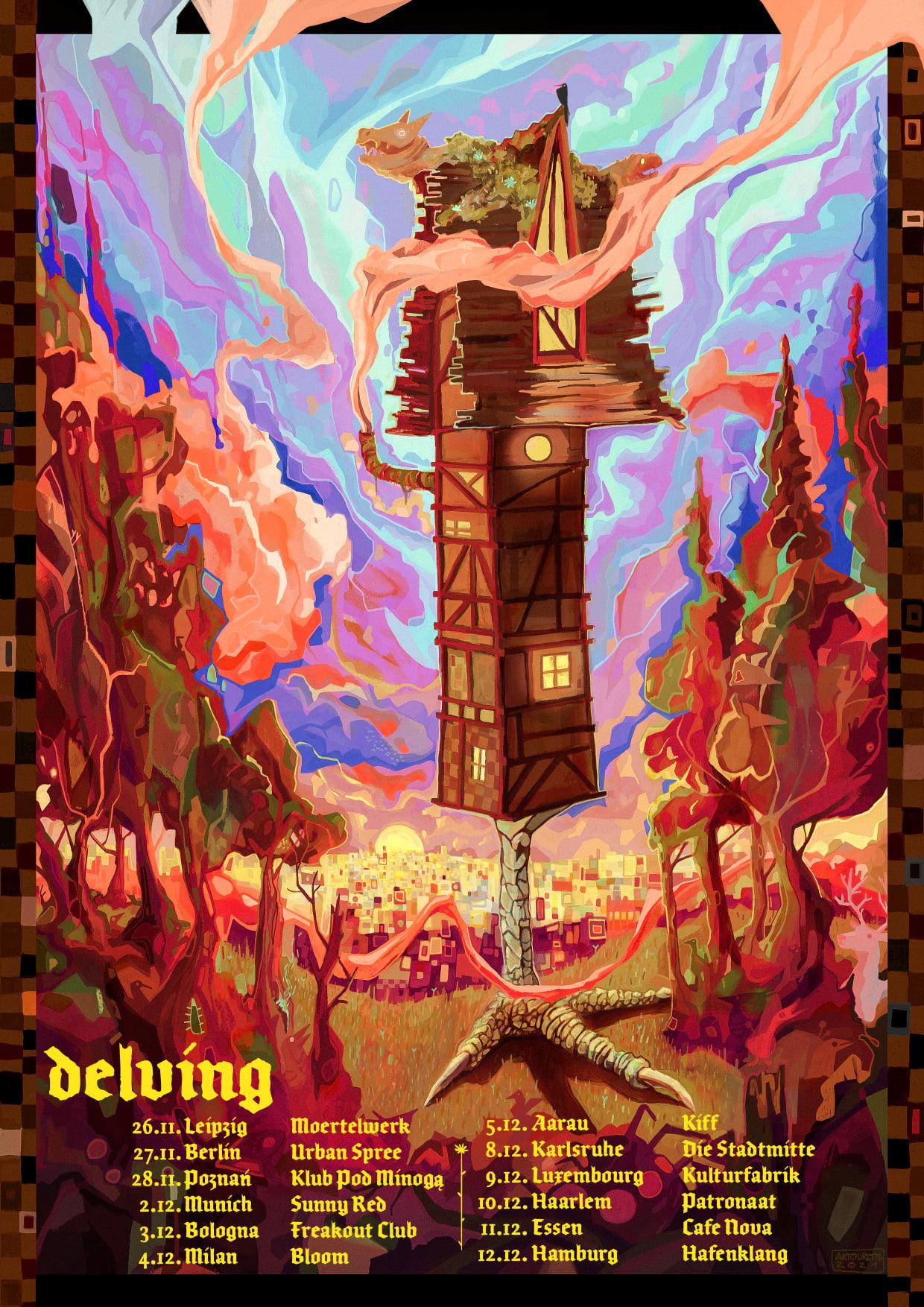 delving tour