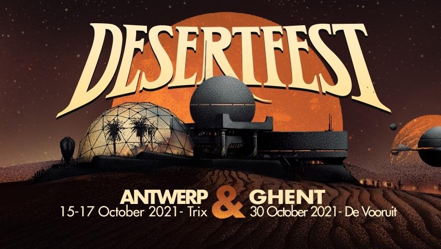 desertfest belgium 2021 banner