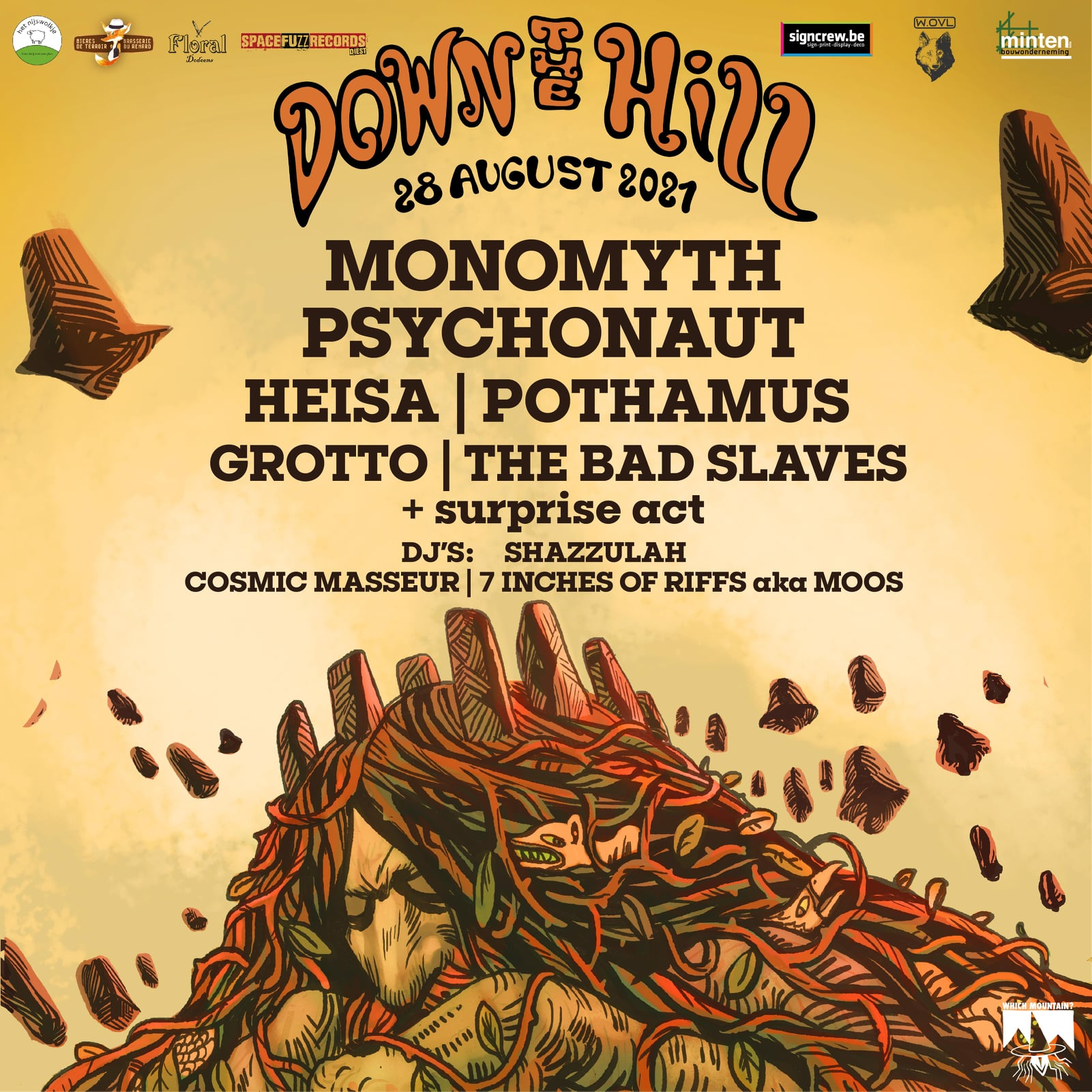 down the hill 2021 poster