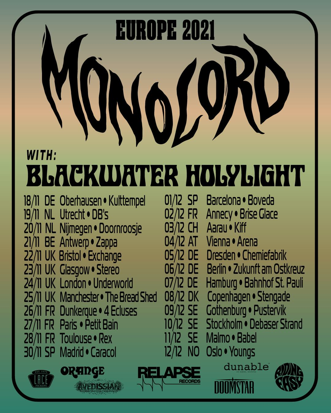 monolord tour