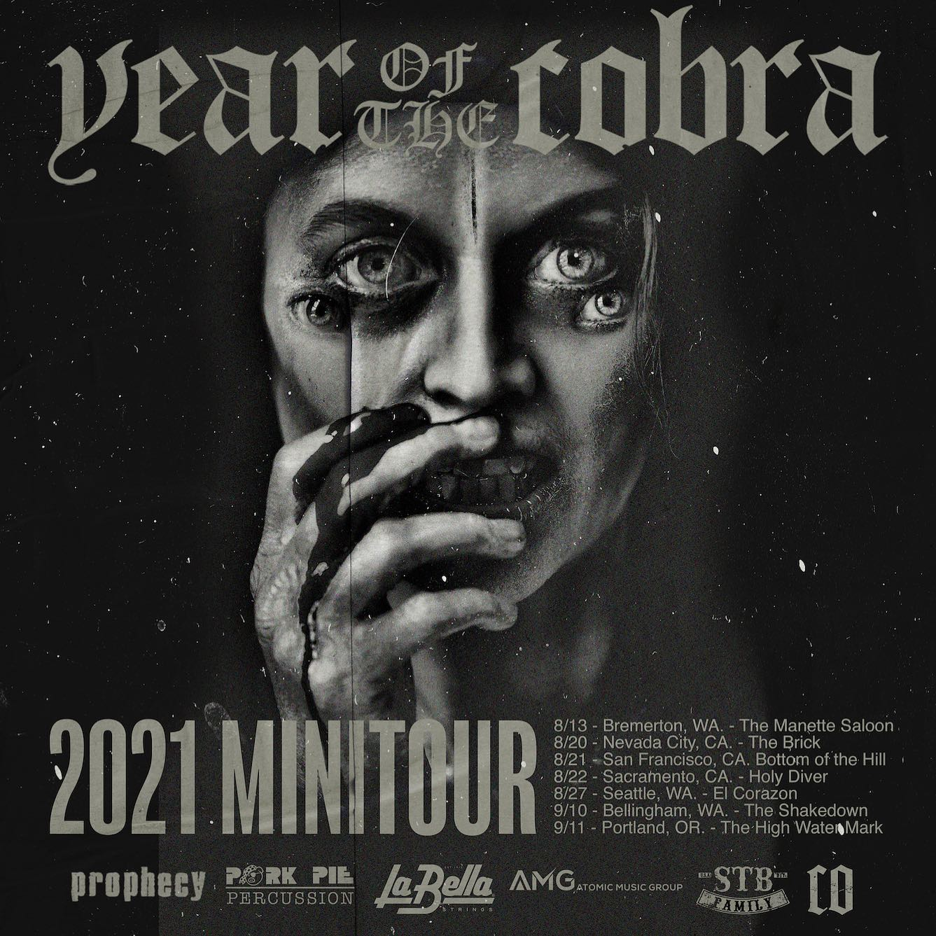 year of the cobra shows