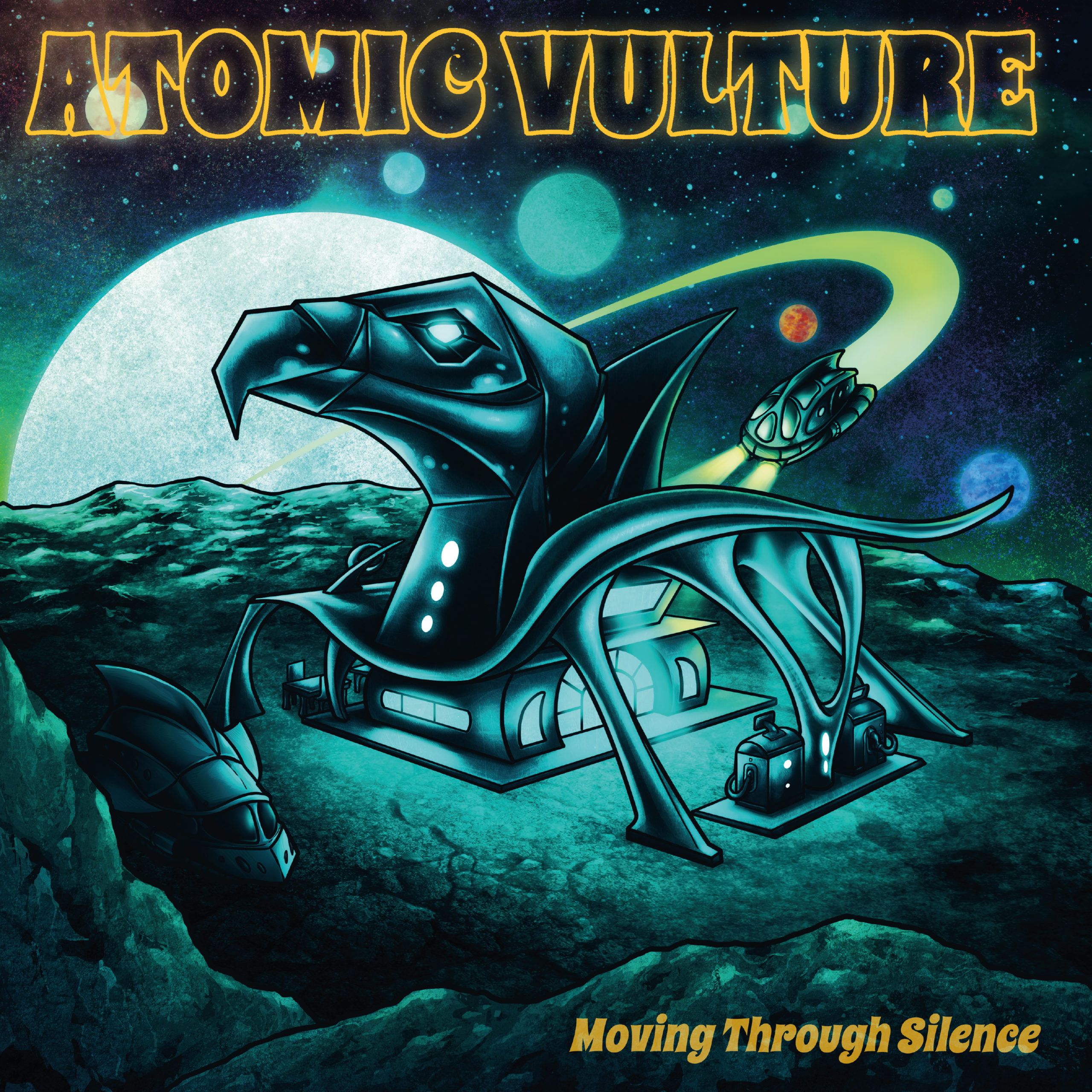 Atomic Vulture Moving Through Silence