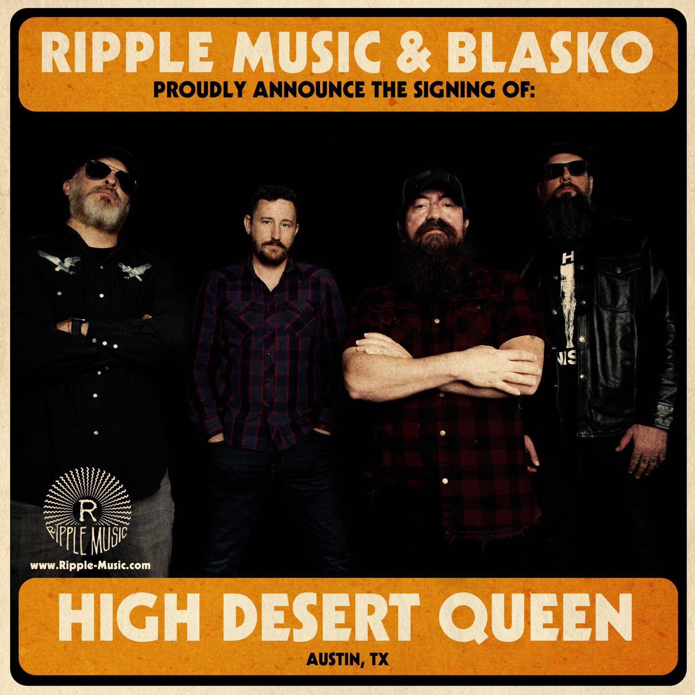 high desert queen ripple music